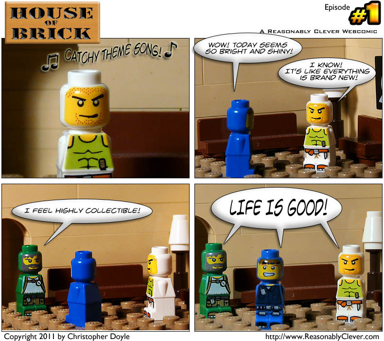 House of Brick #1