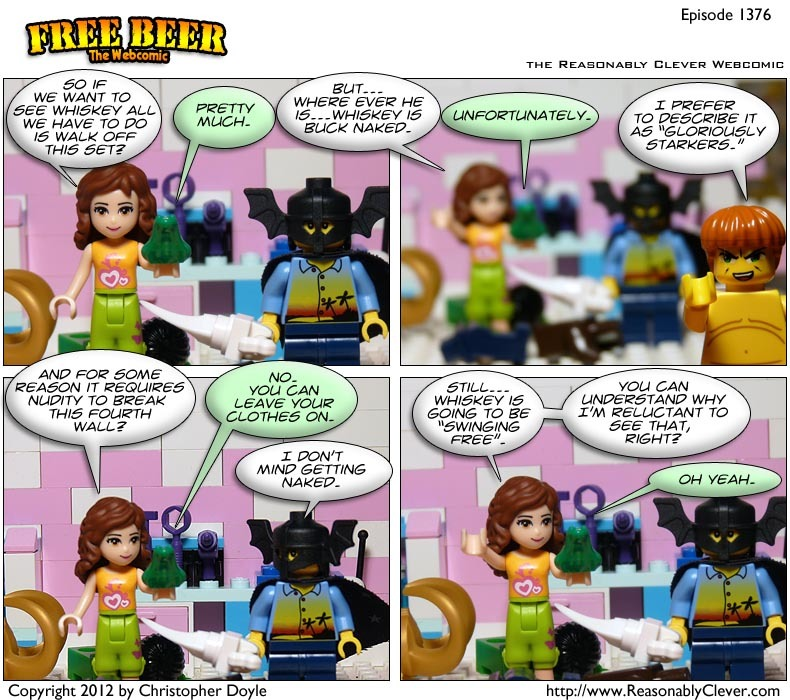 #1376 – Gloriously Starkers
